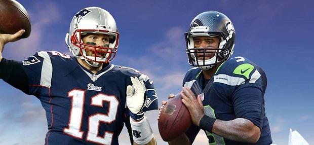 Tom Brady vs Russell Wilson