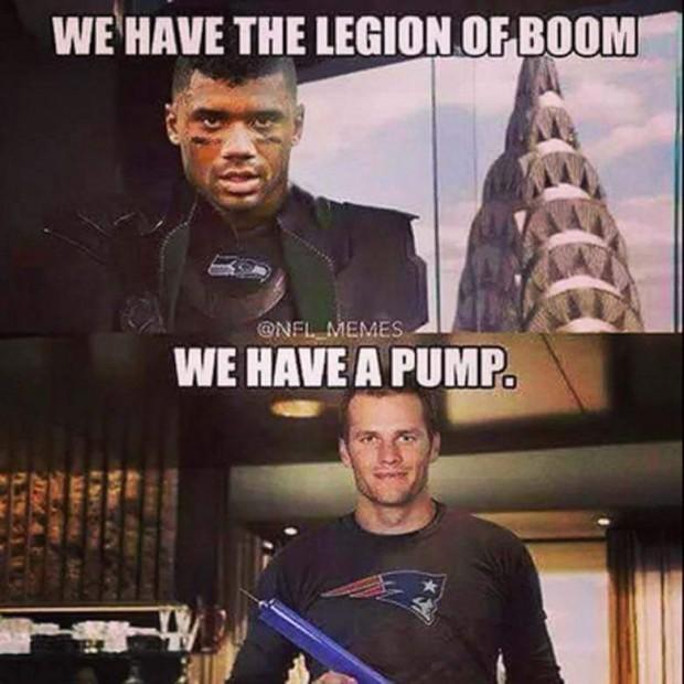Russell Wilson vs Tom Brady