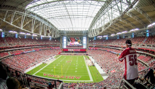 Vista do University of Phoenix Stadium