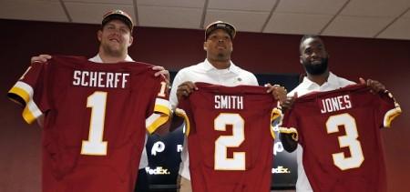 Washington Redskins draft picks Foto de AP Photo/Alex Brandon