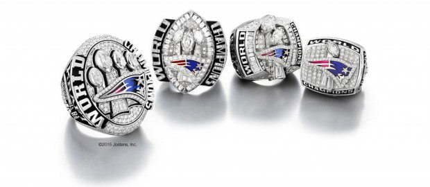 Anel dos New England Patriots Super Bowl XLIX