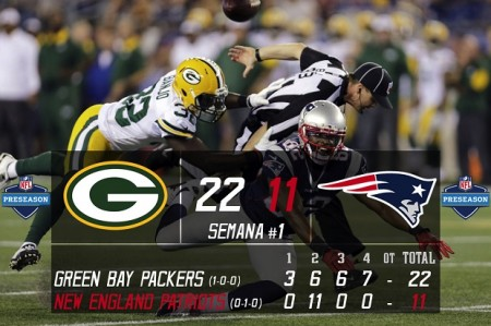 Green Bay Packers vs New England Patriots