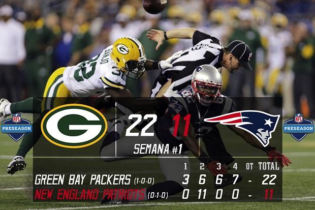 Green Bay Packers vs New England Patriots