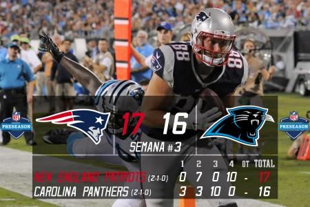New England Patriots vs Carolina Panthers