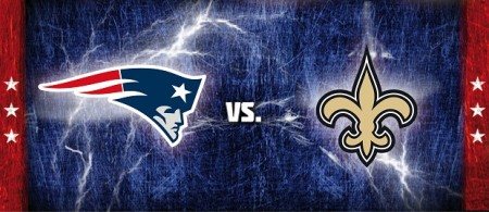 Patriots vs Saints Destaque