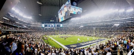 Vista do AT&T Stadium