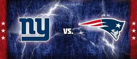 Giants vs Patriots Destaque