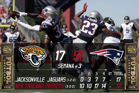 Jaguars vs. Patriots