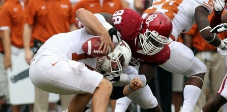 Oklahoma Sooners vs Texas Longhorns