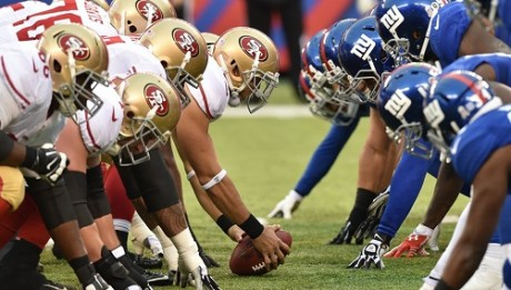 San Francisco 49ers vs New York Giants