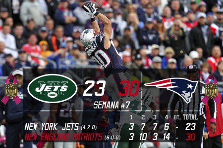 New York Jets @ New England Patriots