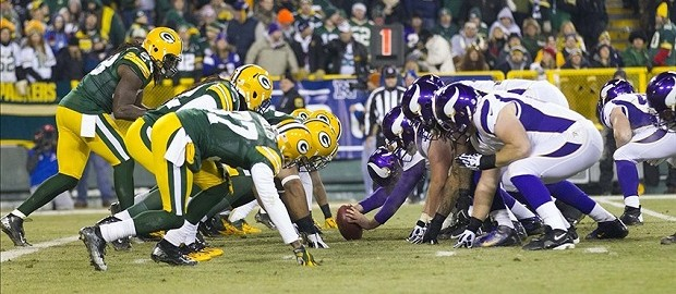 Green Bay Packers vs Minnesota Vikings