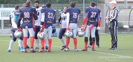 Lisboa Navigators vs Crusaders Futebol Americano