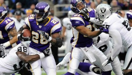 Minnesota Vikings vs Oakland Raiders