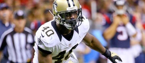 NFL New Orleans Saitns Delvin Breaux