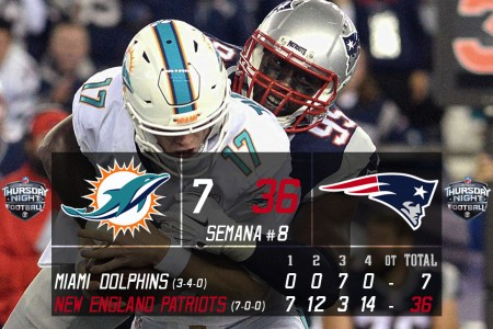 New England Patriots @ Miami Dolphins