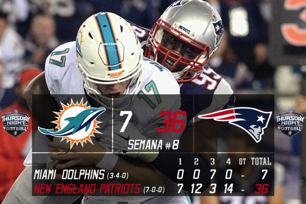 New England Patriots @ Miami Dolphins