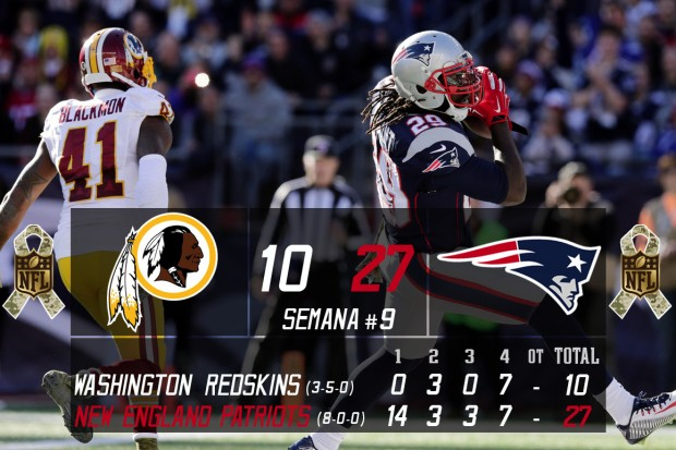 Washington Redskins @ New England Patriots