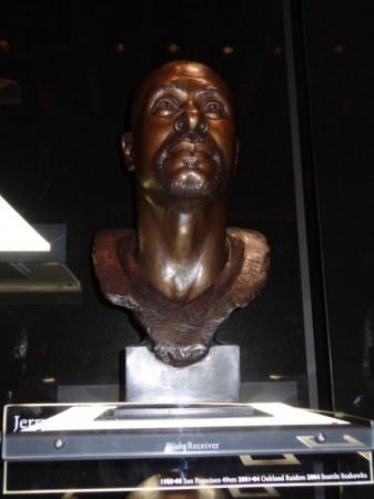 Busto de Jerry Rice