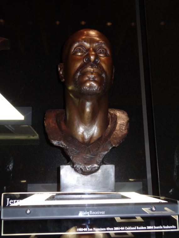 Busto de Jerry Rice