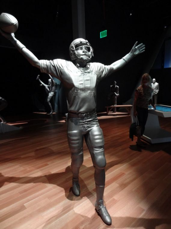 Estátua do Jerry Rice