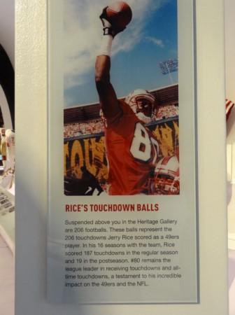 Jerry Rice Touchdown Balls