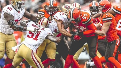 San Francisco 49ers vs Cleveland Browns