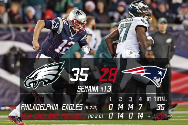 Philadelphia Eagles vs New England Patriots