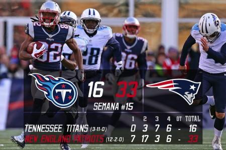 Tennessee Titans vs New England Patriots