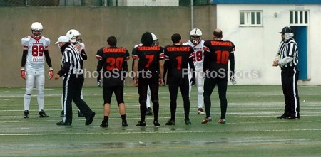 Coin Toss - Porto Renegades e Braga Warriors no Campo do Canelas