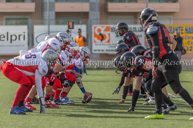 Batalha ofensiva resulta em 15 touchdowns