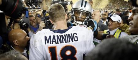 Peyton Manning and Cam Newton