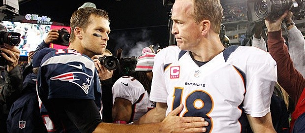 Peyton Manning vs Tom Brady