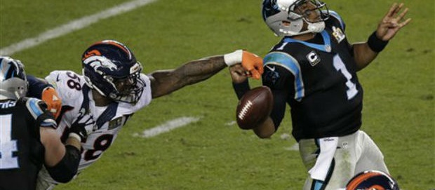 Van Miller - Cam Newton - Super Bowl 50