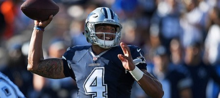 Dak Prescott dos Dallas Cowboys