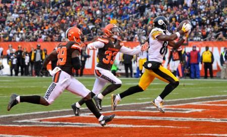 A defesa dos Browns têm de melhorar muito para acompanhar Brown