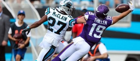 Minnesota Vikings vs Carolina Panthers
