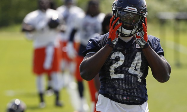 O rookie Howard tem-se assumido como líder do backfield em Chicago