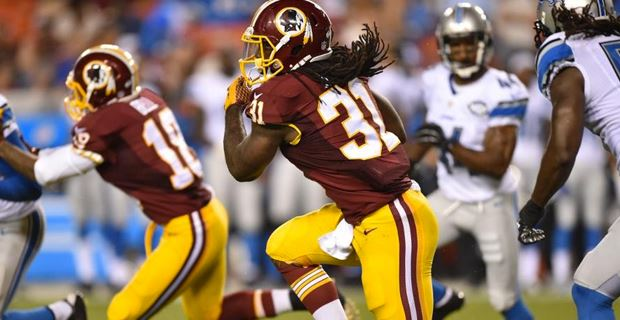 Matt Jones perdeu o lugar de RB1 dos Redskins