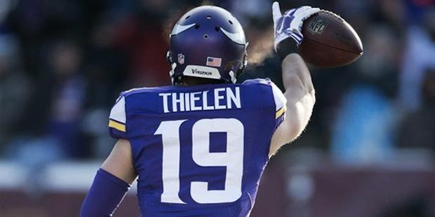 Thielen é uma aposta que vale a pena