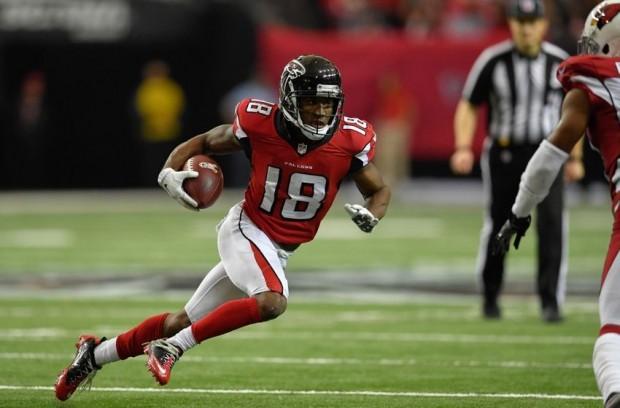 Gabriel marcou dois TD's nos dois últimos jogos dos Falcons