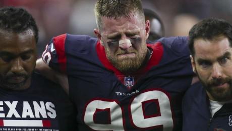 O defesa dos Texans é uma das baixas de peso da NFL 2017. Foto: Michael Ciaglo/Houston Chronicle