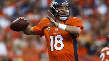 Peyton Manning dos Denver Broncos