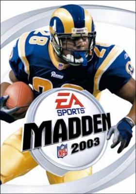 Capa do Madden NFL 2003
