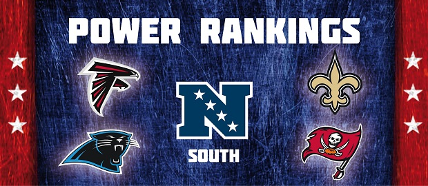 NFC South - Power Rankings