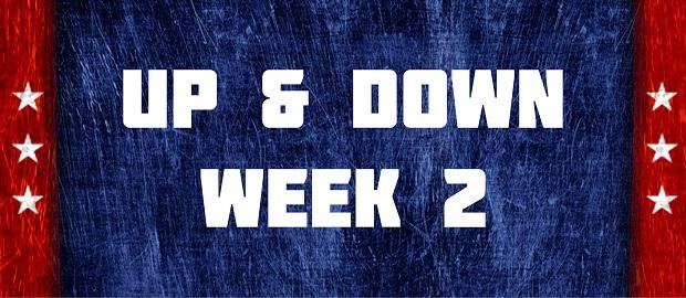 Up & Down - Week 2
