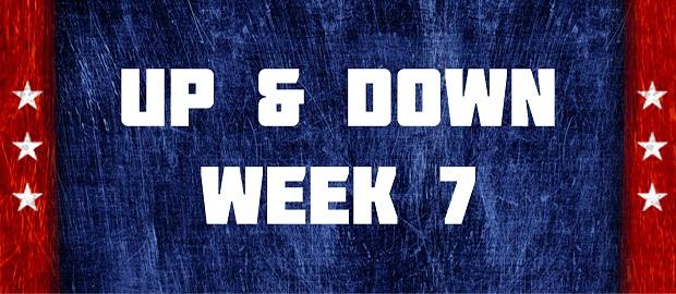 Up & Down - Week 7