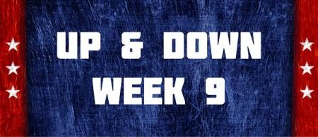 Up & Down - Week 9
