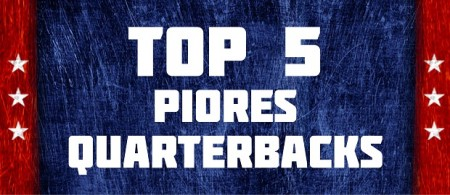 Top 5 Piores Quarterbacks