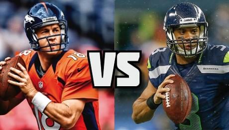 Peyton Manning vs Russell Wilson